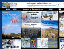 Tablet Preview of geographic.org